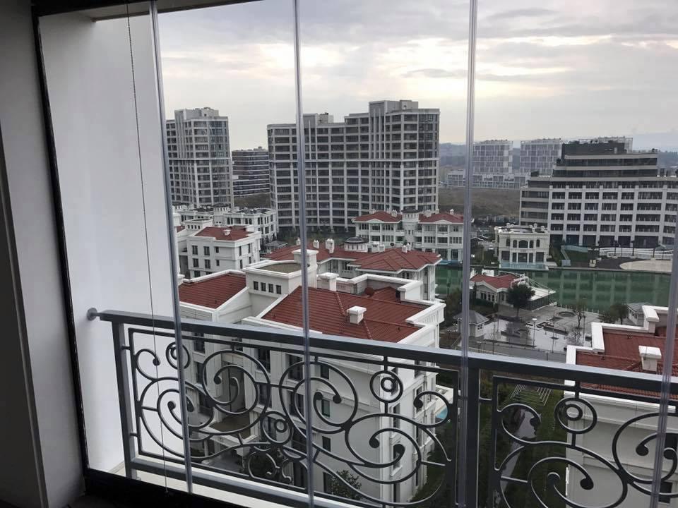 İstanbul Sarayları Cam Balkon uygulması