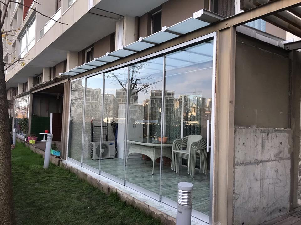 Soyak Park Aparts Eşiksiz sürgü doğrama uygulaması