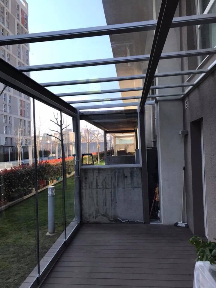Soyak Park Aparts Kış Bahçesi Uygulaması