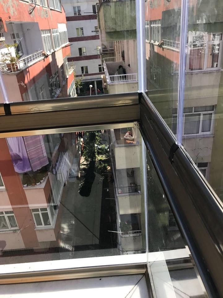 Yeni Bosna Cam Balkon kapatma